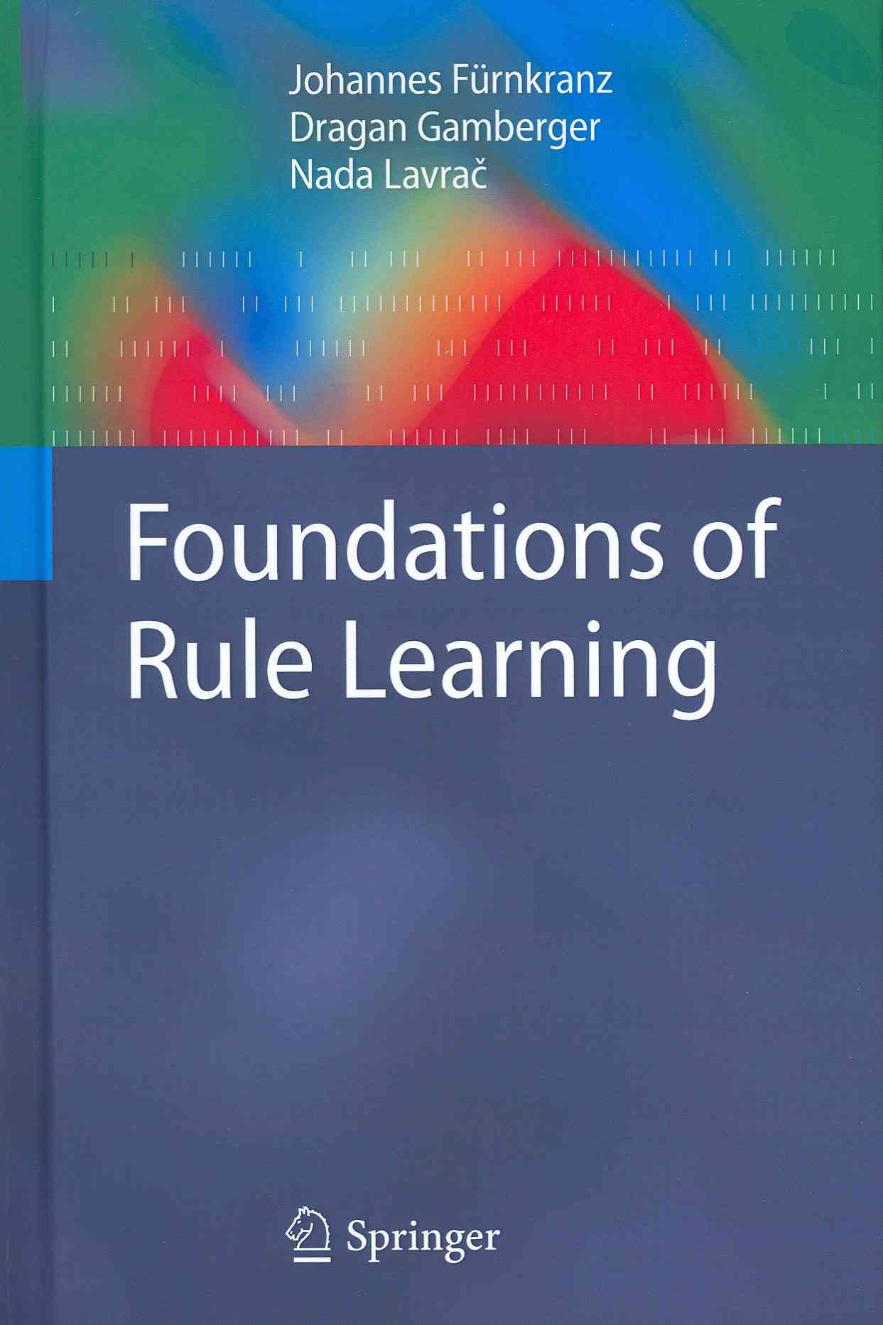 Rule Learning By Furnkranz, Johannes